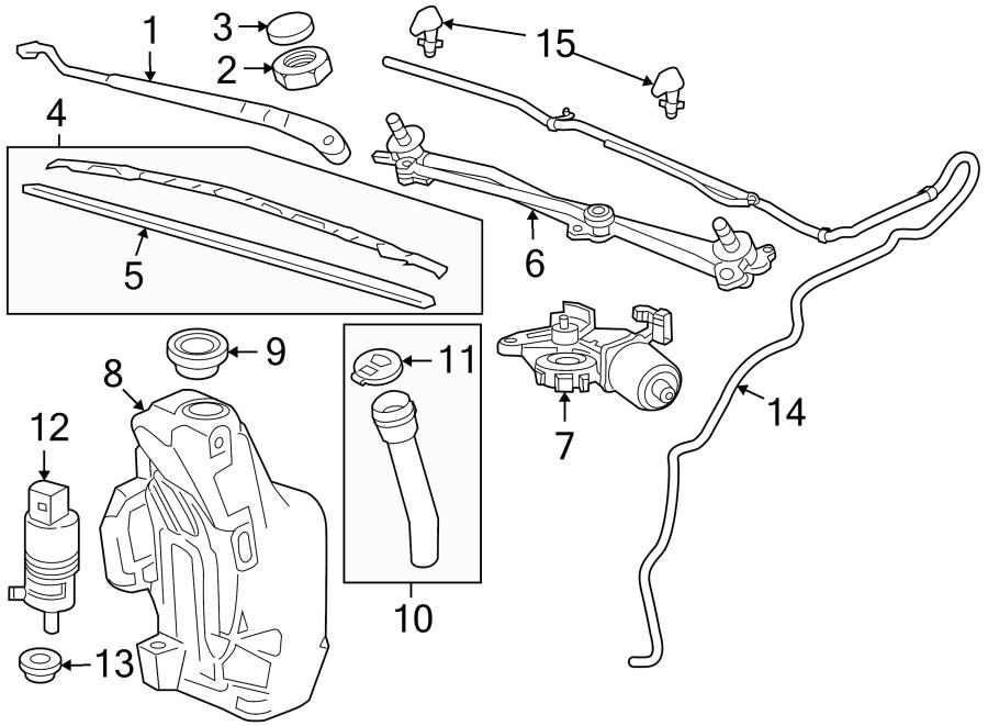 Ford Wiper Linkage Diagram
