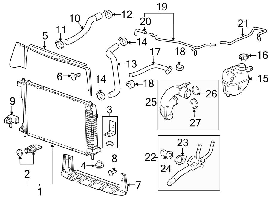 gmc terrain radiator drain plug  liter