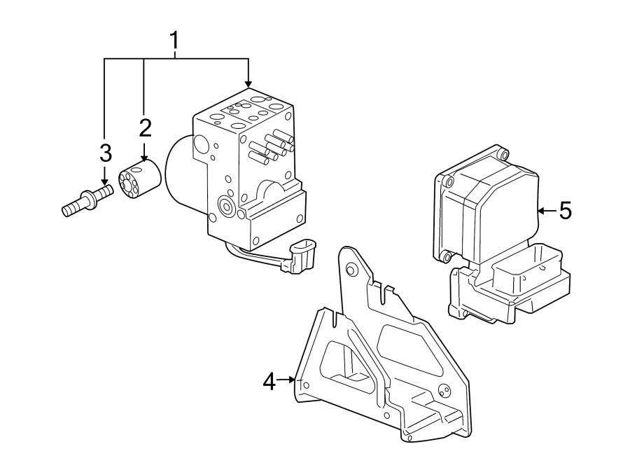 Pontiac Montana Modulator  Valve  Abs