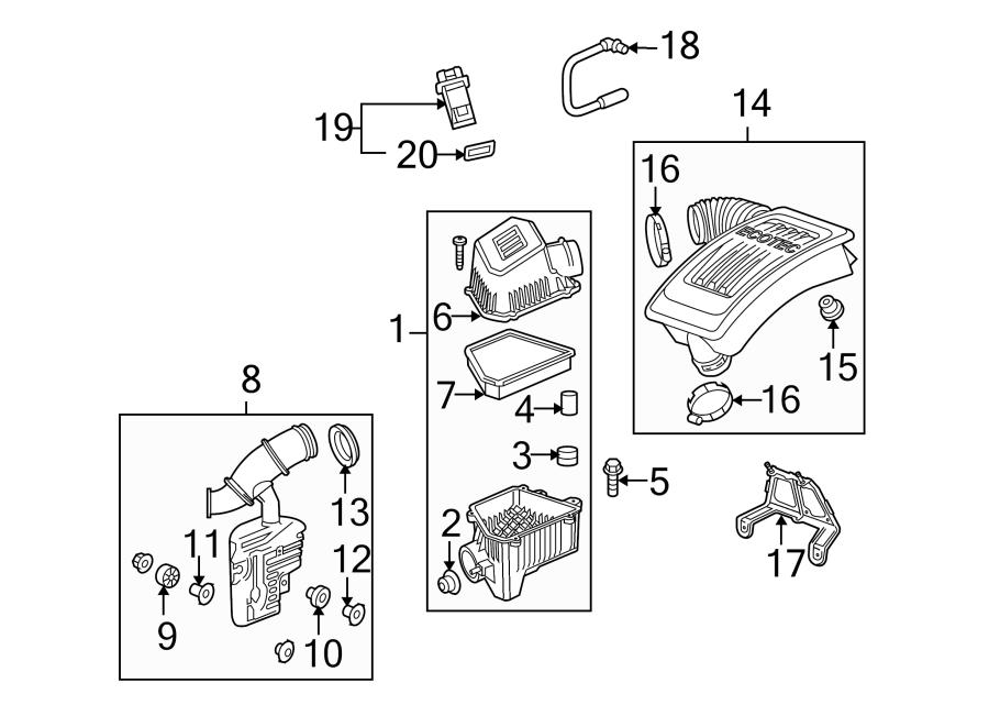 Chevrolet Equinox Pcv Valve Hose  2 4 Liter