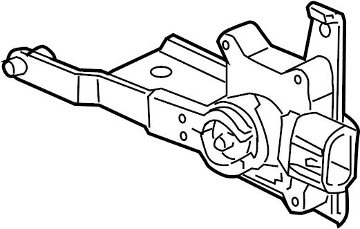 buick terraza sensor  assembly  auto lvl cont  level  rear