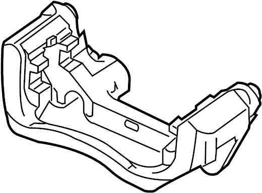 Chevrolet Cruze Caliper Support Disc Brakes 13300865