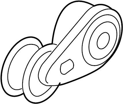 gmc savana 3500 belt tensioner  serpentine tensioner