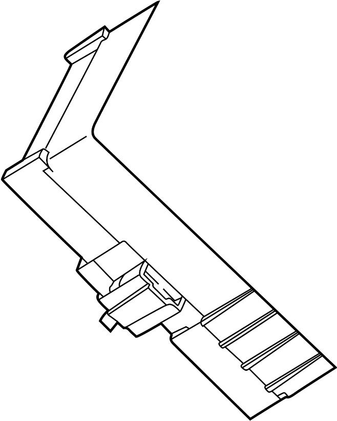 pontiac torrent junction block  panel  instrument  heated