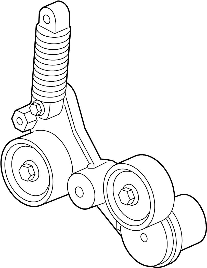 buick regal belt tensioner  serpentine tensioner